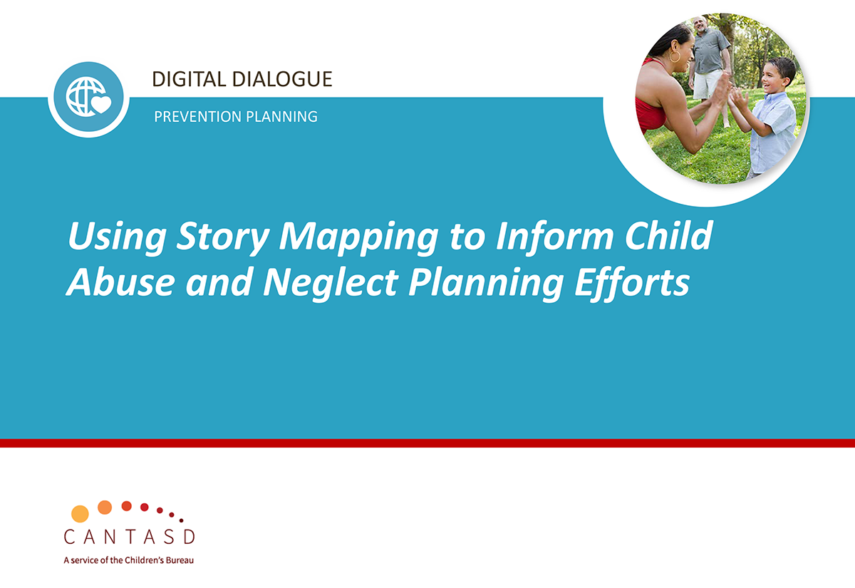 Recording of digital dialogue on story mapping (This link opens in a new window)